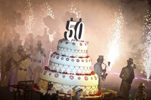 PRIVATE 50th BIRTHDAY IN WONDERLAND EVENT Nikos Lagousakos